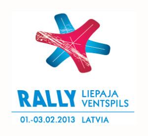 Rallijs Liepaja Ventspils logo ar datumiem