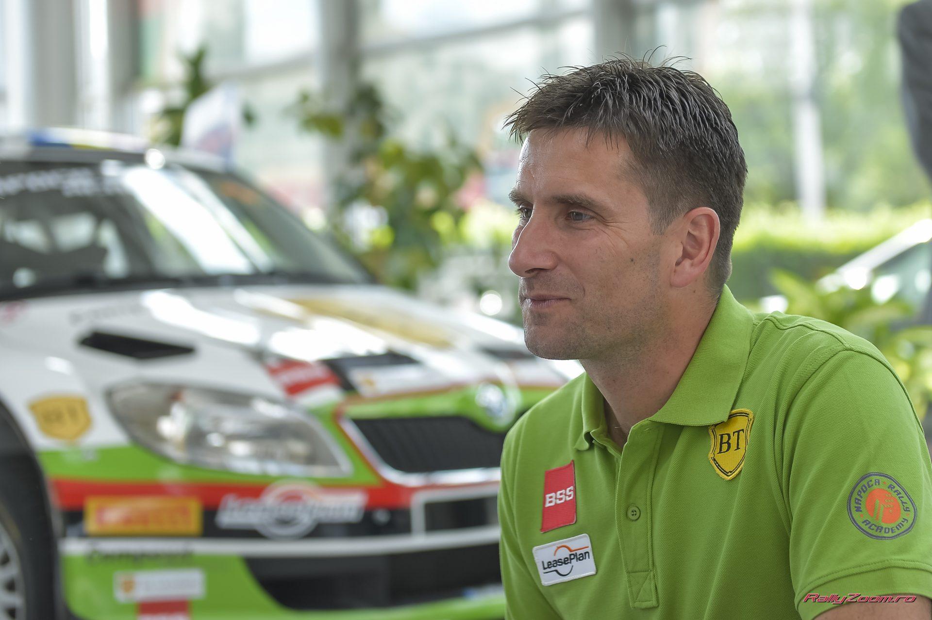 Bogdan Marisca va lua startul cu un model SKODA Fabia S2000 la urmatoarele doua etape