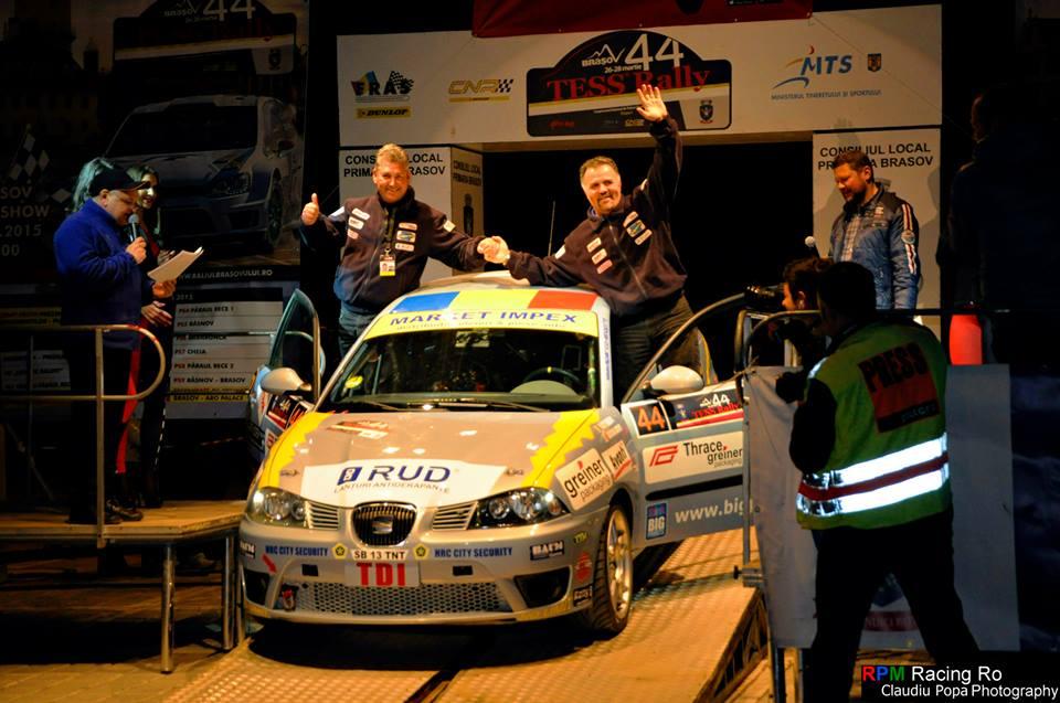 Pentru Cristi Toader si Gheorghe Badea, Tess Rally a fost unul din cele mai grele raliuri