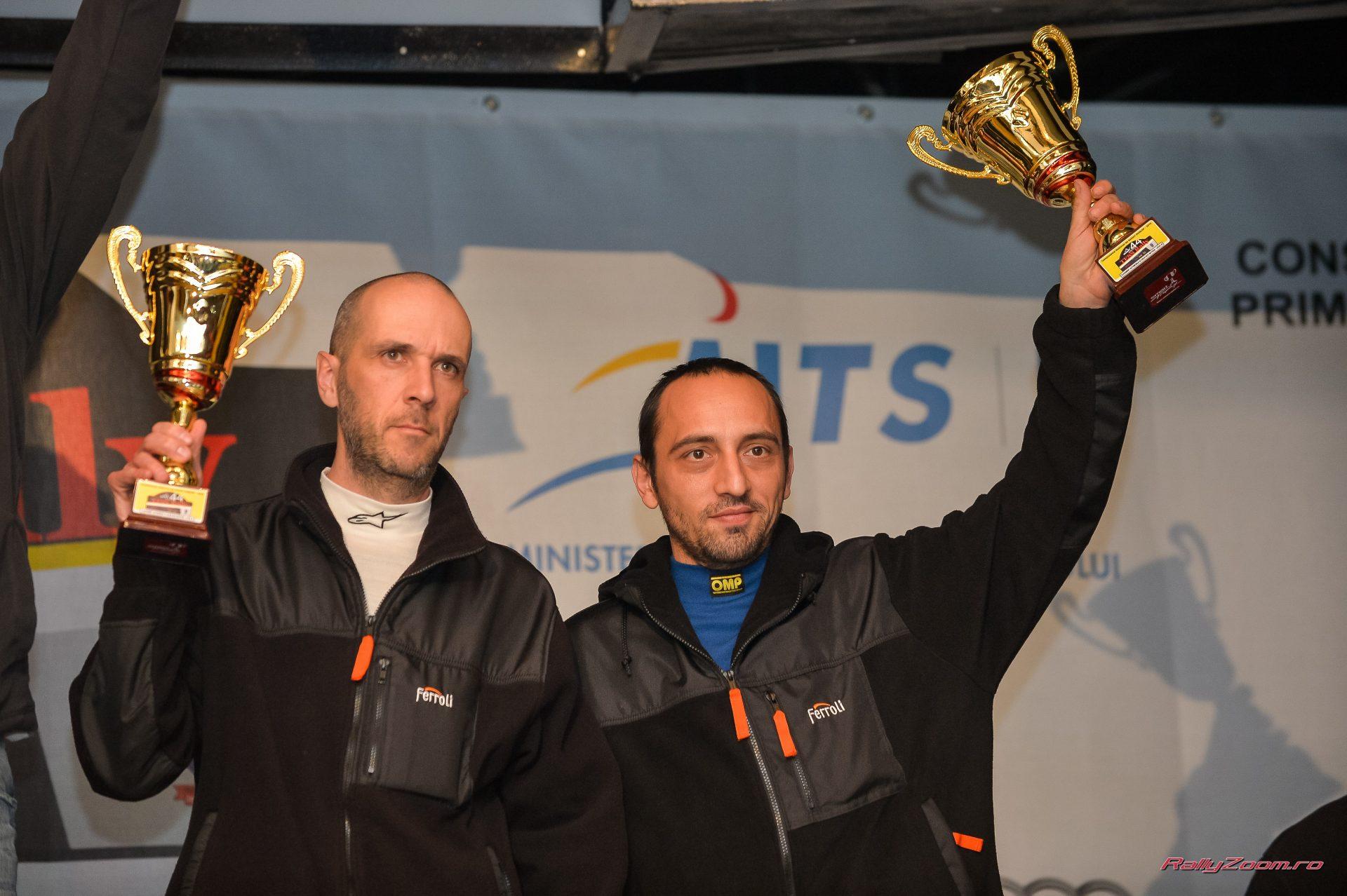 Csongor Szabo si Marcus Andreoiu tintesc a doua victorie  la Raliul Aradului