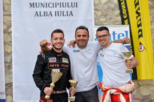 Doua echipaje Danny Ungur Racing debuteaza pe podium in Campionatul National de Viteza in Coasta