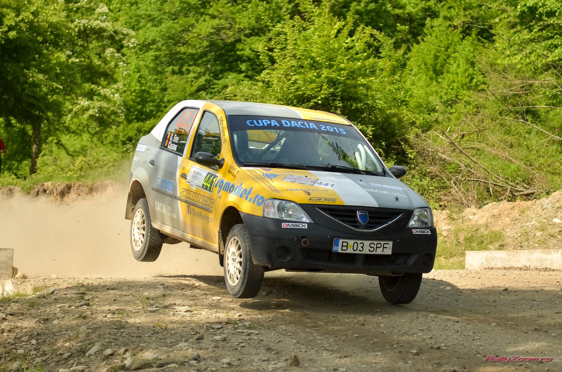 Motivare la cote maxime pentru Gabriel ENE si Ciprian SOLOMON la Danube Delta Rally