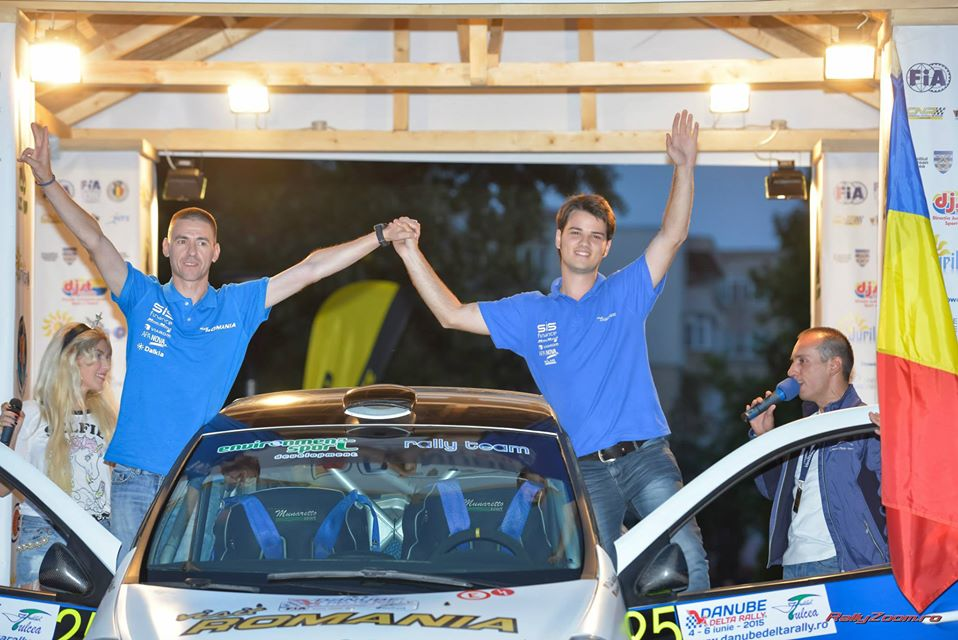Raul Badiu, noul membru al Sibiu Racing Team, Alex Ardelean si Rares Tomita tin sus ambitia sibiana la Raliul Moldovei