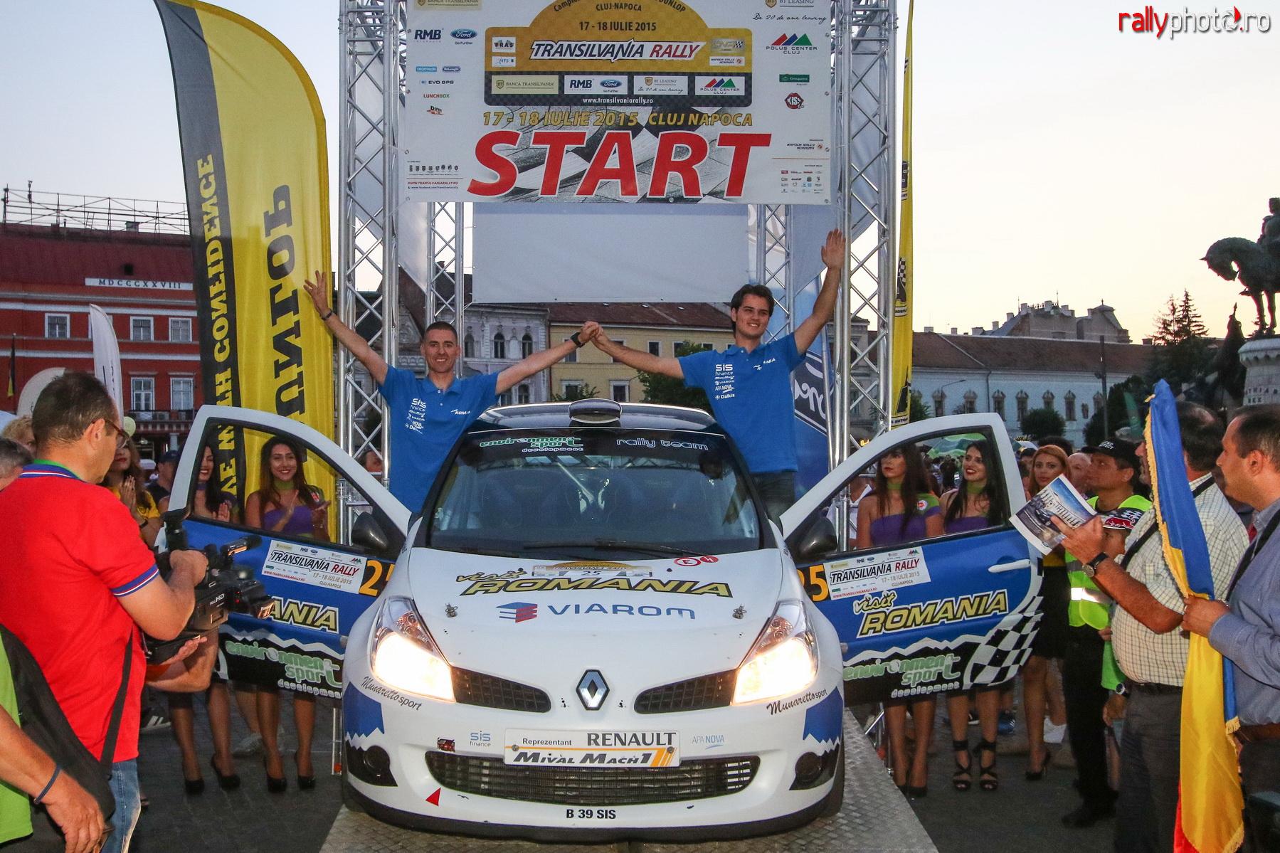 Raul Badiu este omul raliului la Cluj, Sibiu Racing Team urca din nou pe 2 la echipe