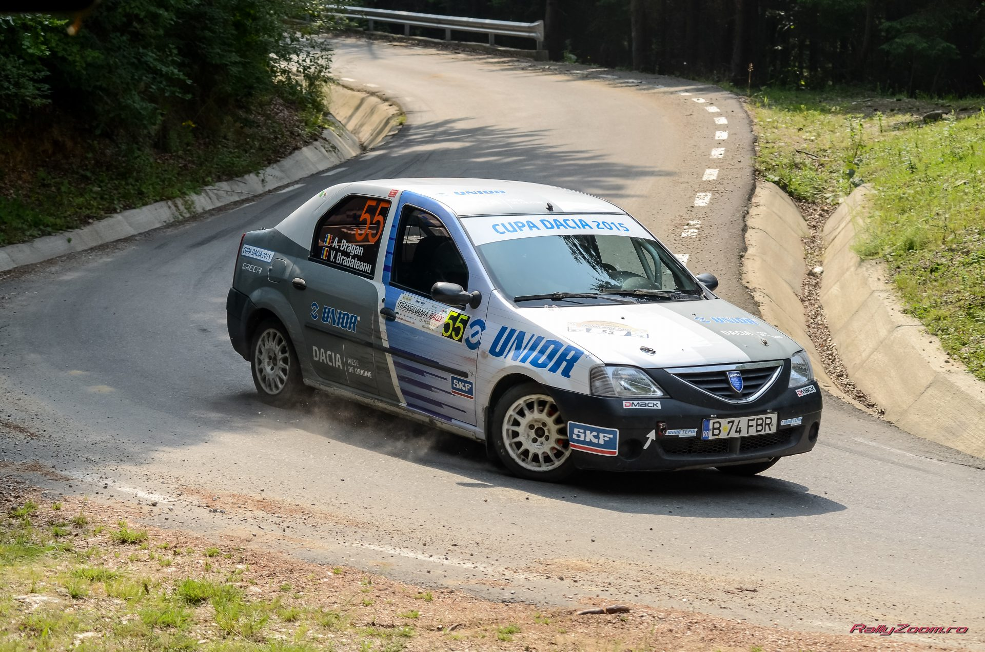 Cupa DACIA 2015 ? Sapte echipaje se lupta pentru podium la Sibiu Rally Challenge