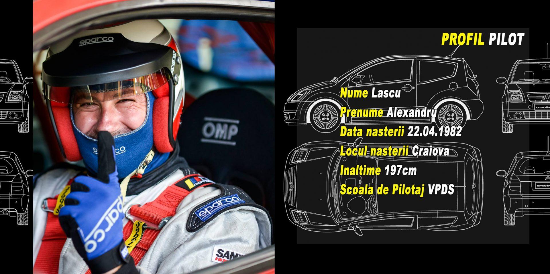 """Alex Lascu: """"Ne vedem la Tess Rally, alaturi de Mihaela Balint si BMW, in cadrul Rally2"""""""