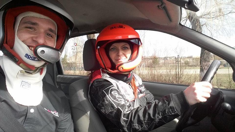 Norbert Maior a participat in dreapta Mihaelei Ene la Women's Cup, in cadrul Promo Rally Brasov