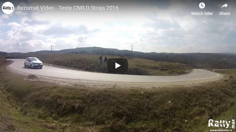 Teste pre-Tess Rally 2016 la Straja, Alba – Video