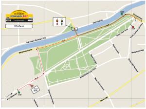 Harta superspeciala Cluj-napoca - Parcul Central