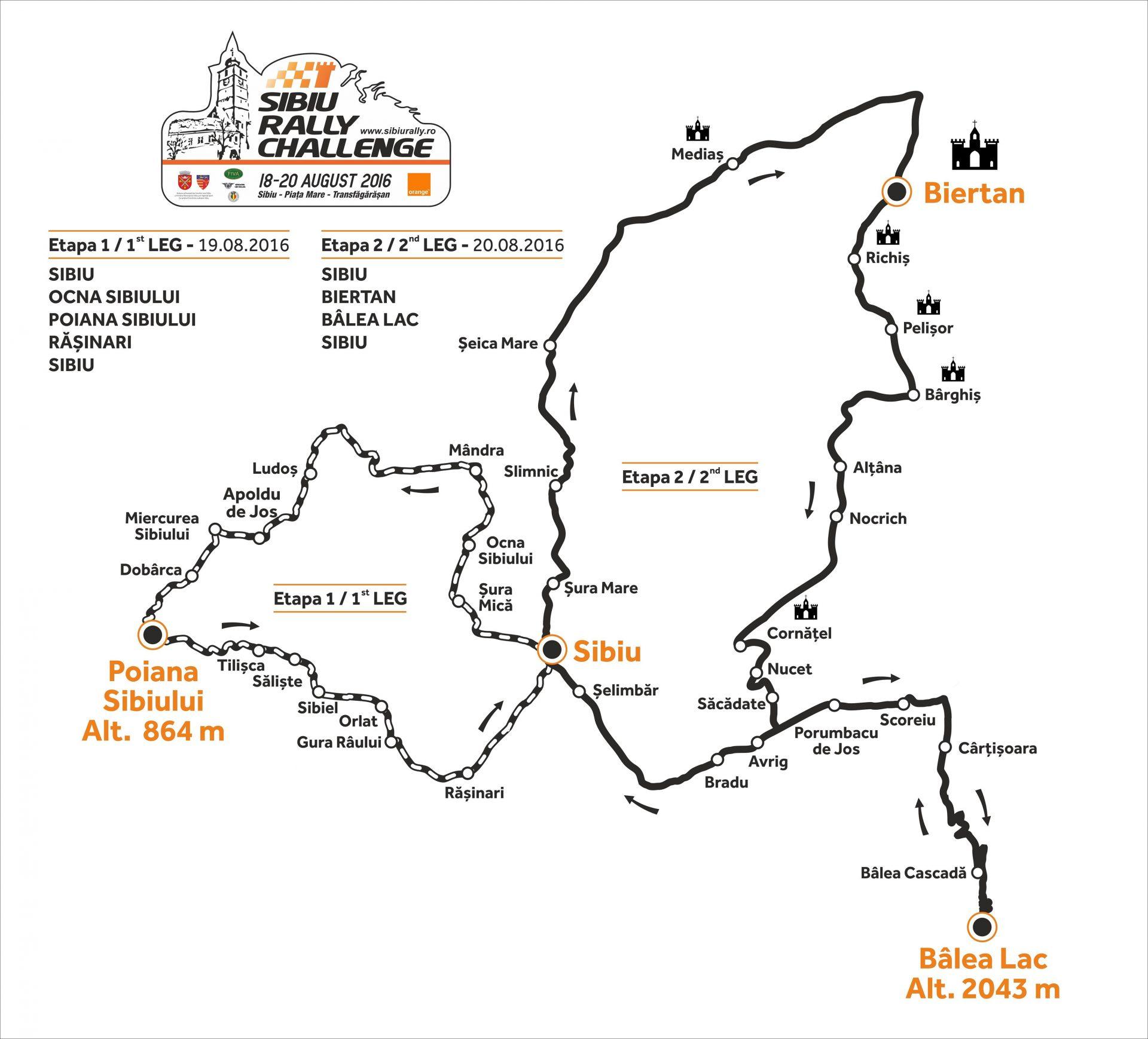 S-au deschis inscrierile pentru Sibiu Rally Challenge 2016