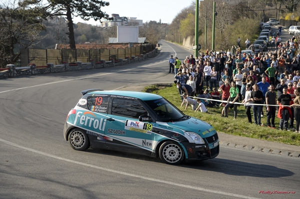 Start in Transilvania Rally pentru Csongor Szabo