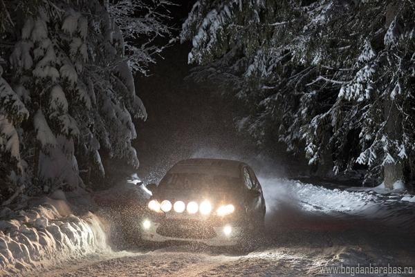 Finish cu succes pentru Csongor Szabo la Winter Rally 2018
