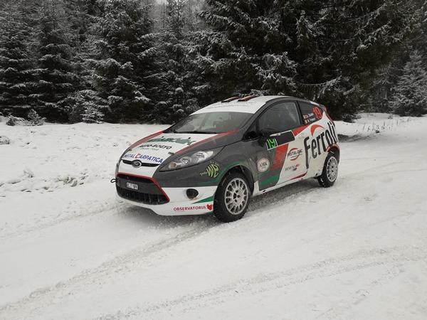 Pentru Csongor Szabo, pregatirea sezonului 2018 incepe la Winter Rally