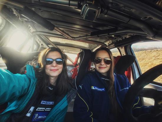 "Cristiana Oprea: ""As putea spune ca in cazul meu norocos motorsport is life?"""