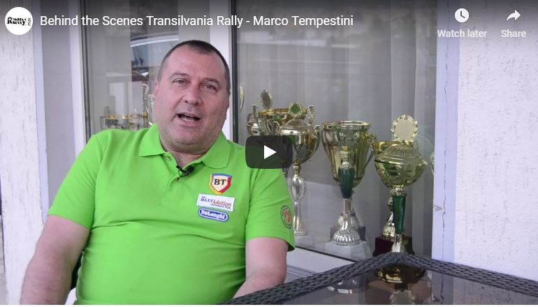 Behind the Scenes Transilvania Rally – Video Interviu Marco Tempestini