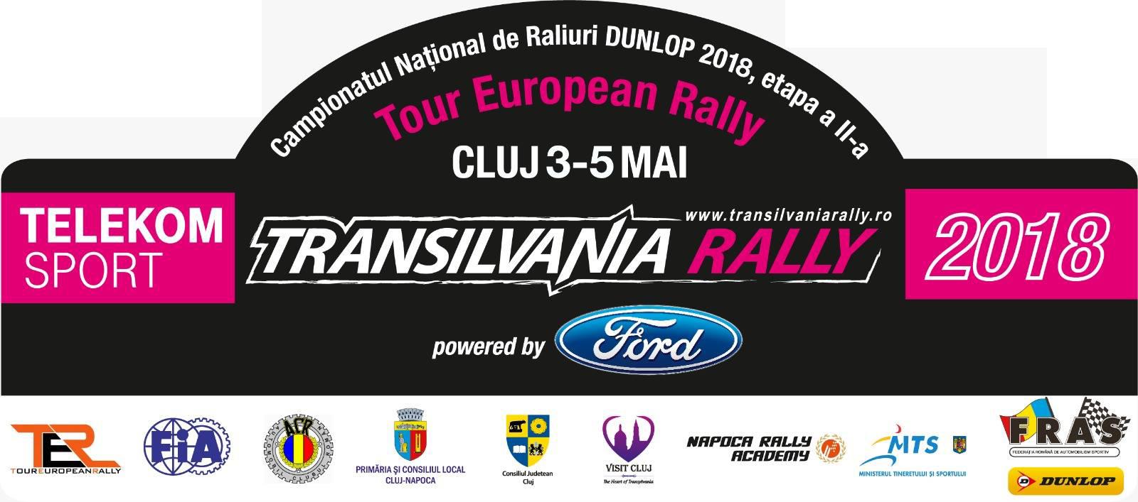 Transilvania Rally 2018 – Documente oficiale