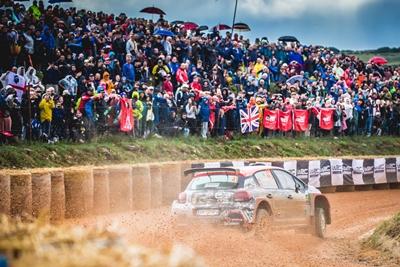 Raliul Sardiniei, prima etapa din WRC cu Citroen C3 R5