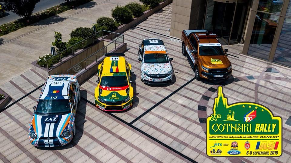 COTNARI RALLY IASI CENTENAR – Pregatiri in toi pentru cel mai asteptat eveniment automobilistic al anului in Romania
