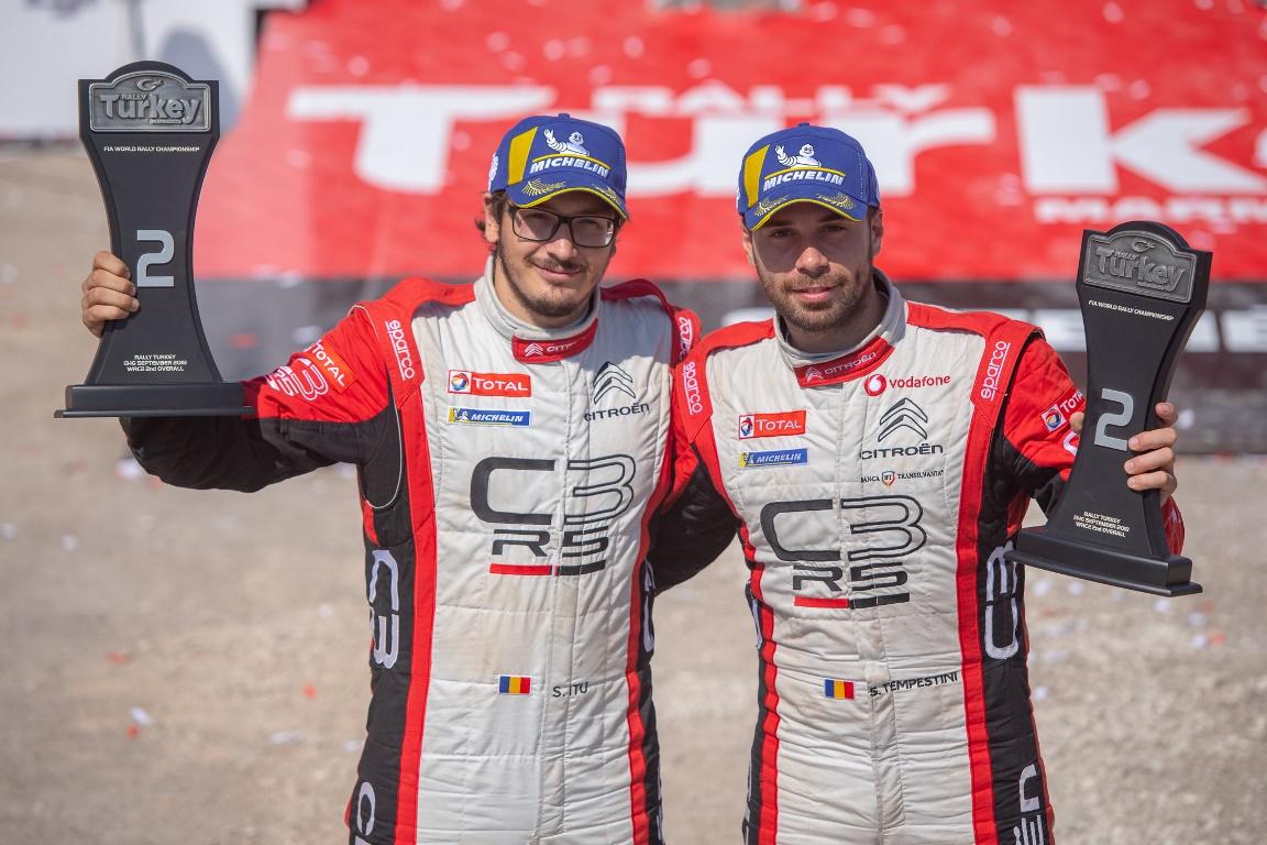 Simone Tempestini, locul doi in WRC2 la Raliul Turciei
