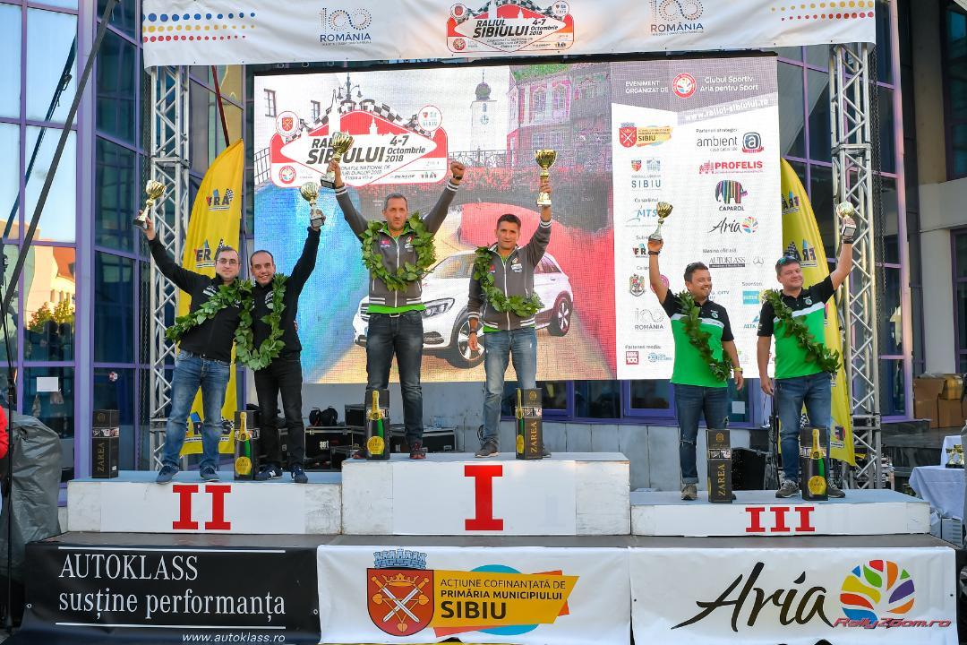 Napoca Rally Academy – al cincilea titlu de campioana a Romaniei la raliuri