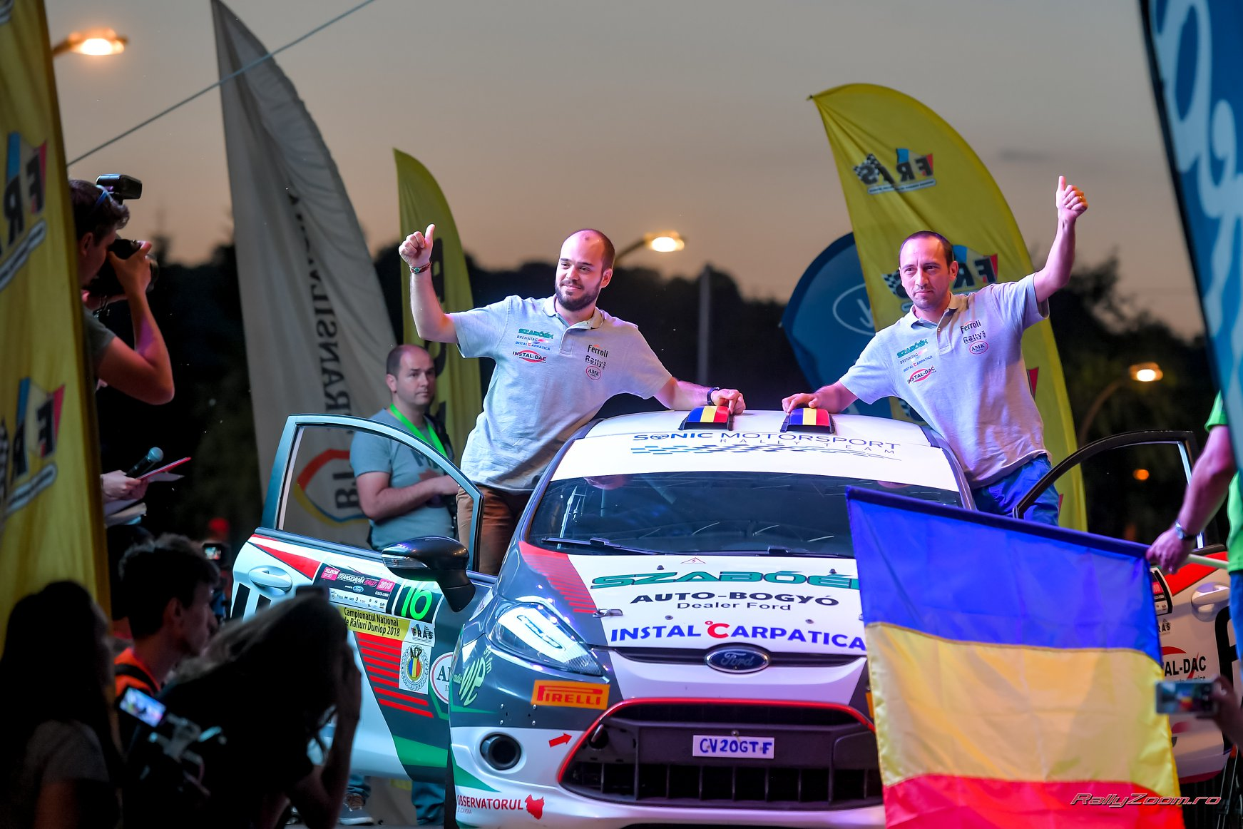 Final de sezon la finala European Rally Trophy