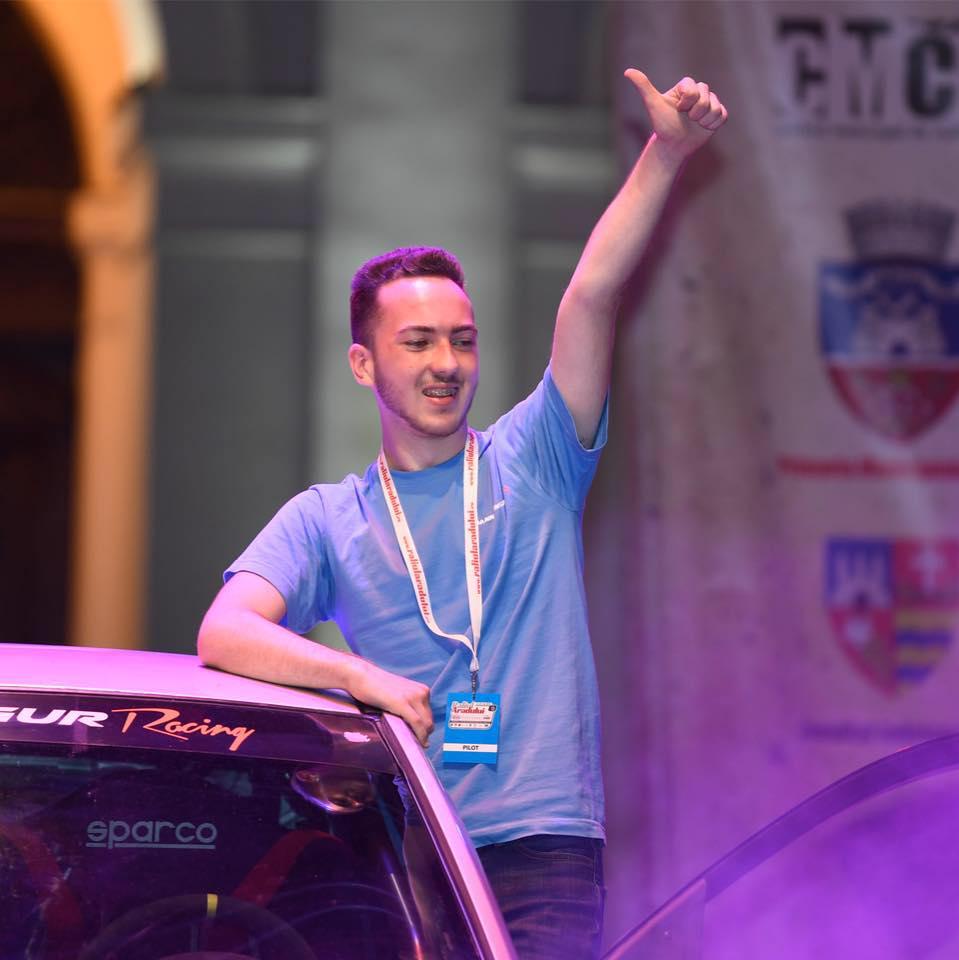 """Aurelian Malutan: """"Pentru 2019 planuiesc un sezon complet in Campionatul National de Rally2, unde obiectivul este de a-mi imbunatati pilotajul"""""""