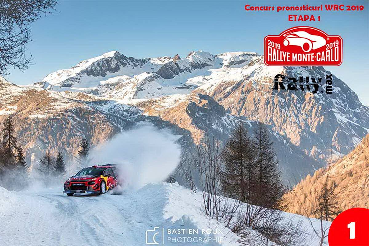 Pronosticuri WRC 2019 – Rallye Monte Carlo