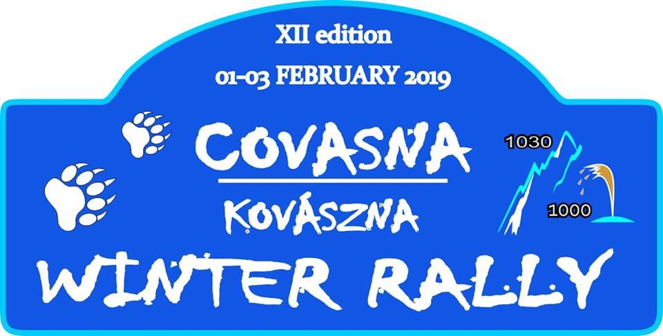 Spectacol pe zapada la Winter Rally Covasna 2019