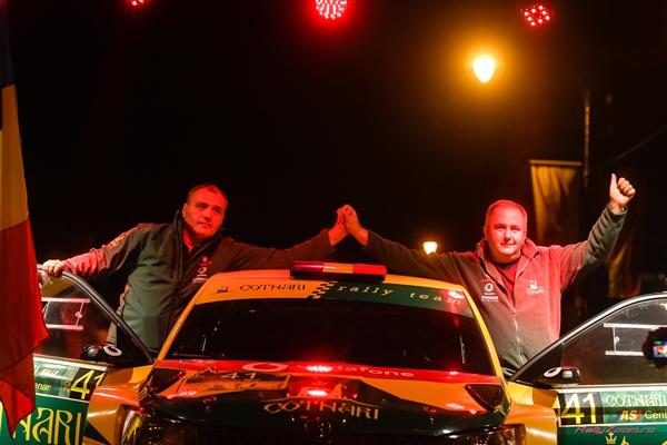 Debut de sezon pentru echipajul Cotnari Rally Team