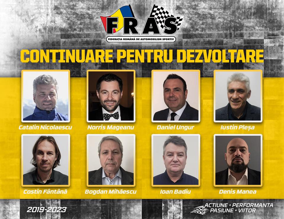 NEWS: Echipa Norris Mageanu castiga alegerile FRAS 2019