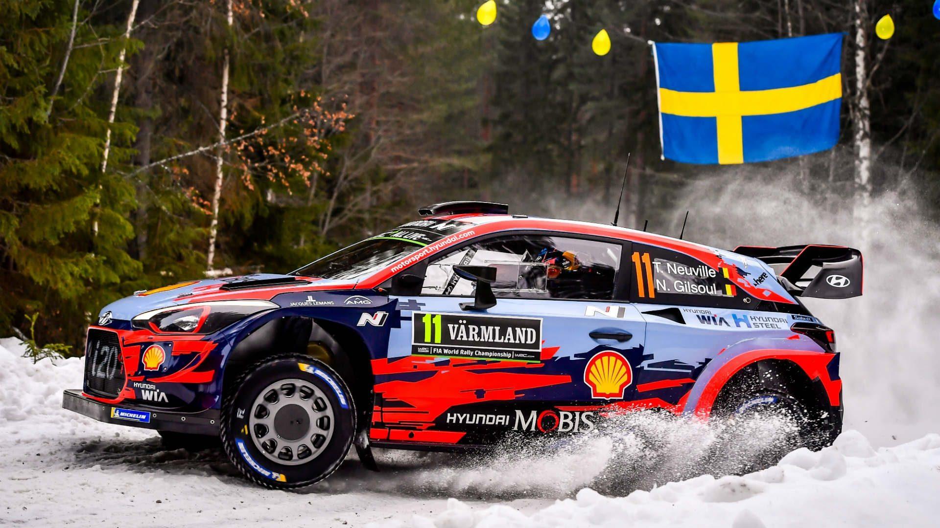 WRC Rally Sweden 2019 – Actiunea se muta pe zapada