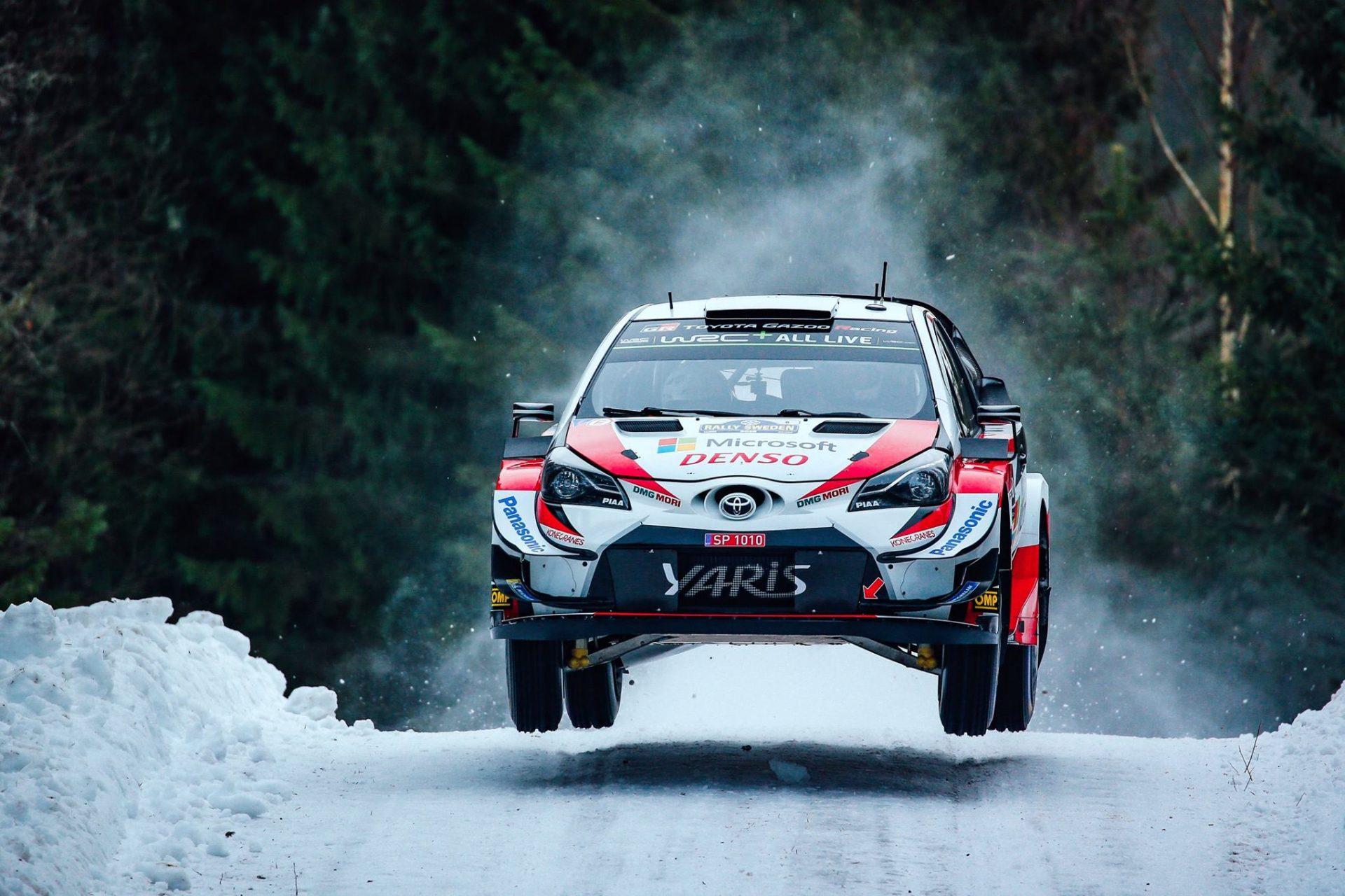 WRC Rally Sweden 2019 – Badiu oprit pe PS4, Tanak liderul raliului