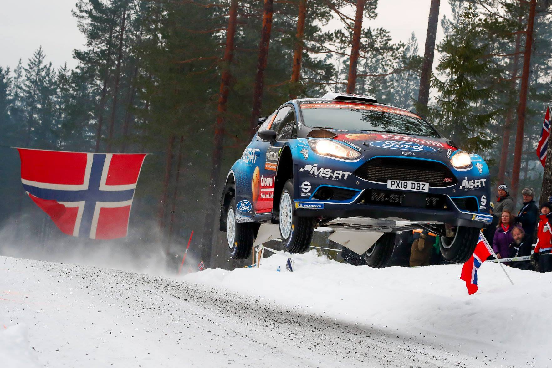 WRC Rally Sweden 2019 – Badiu pana in SuperRally; schimbare de lider in WRC