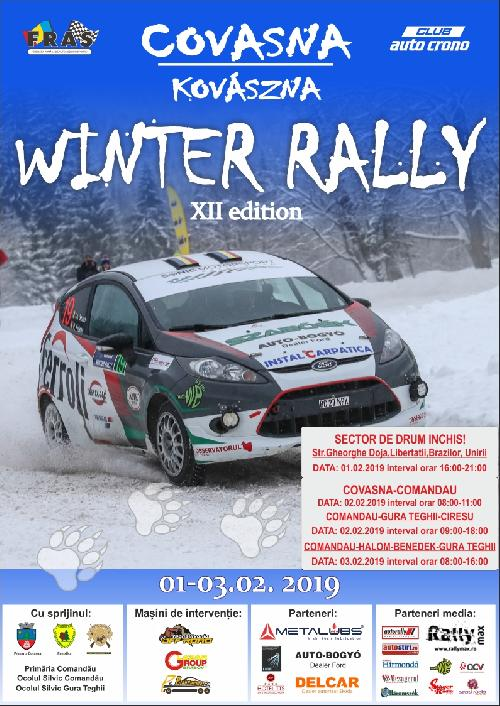 Winter Rally Covasna 2019 – Ghid Spectatori