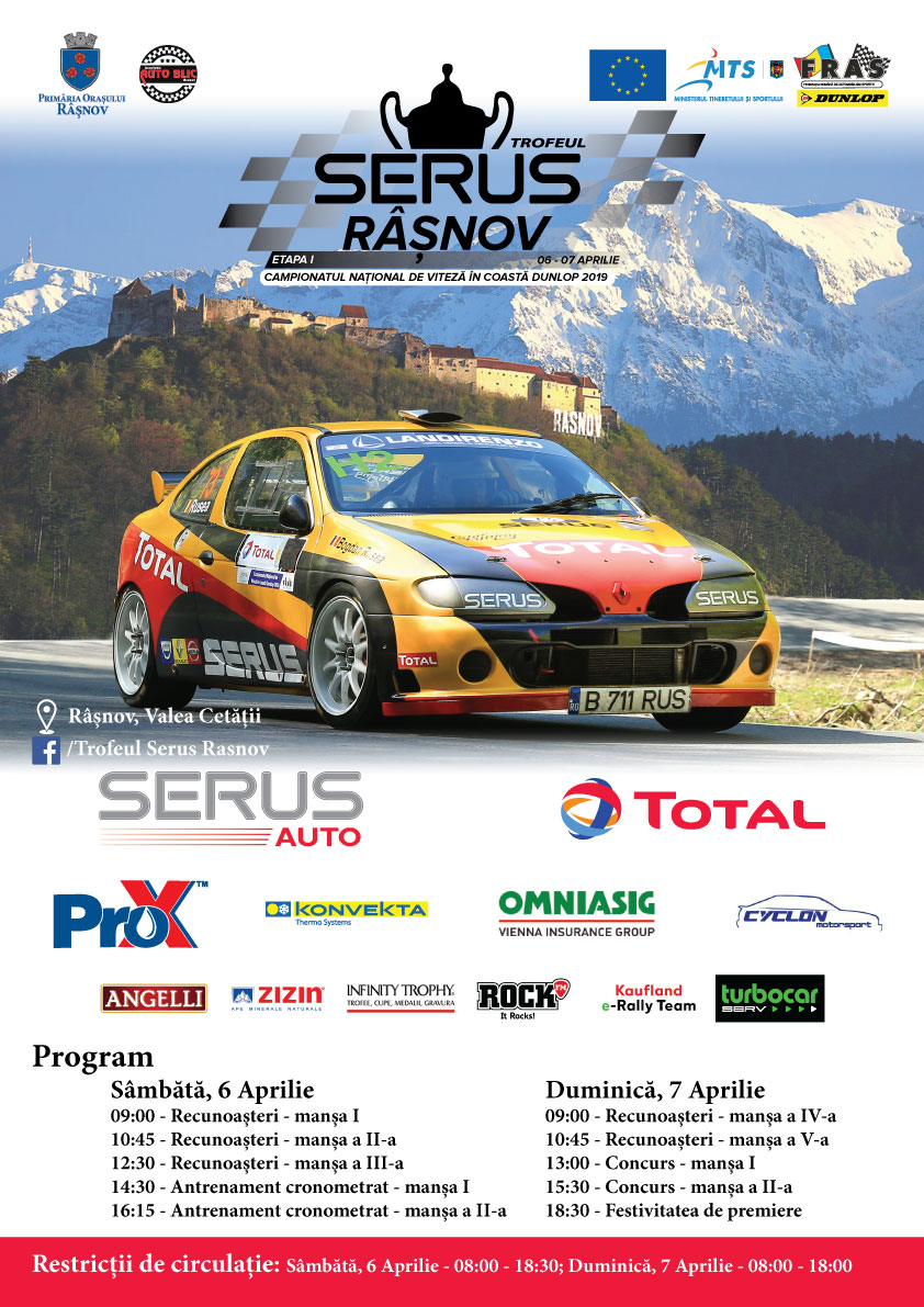 Trofeul SERUS – Rasnov – Update inscrieri