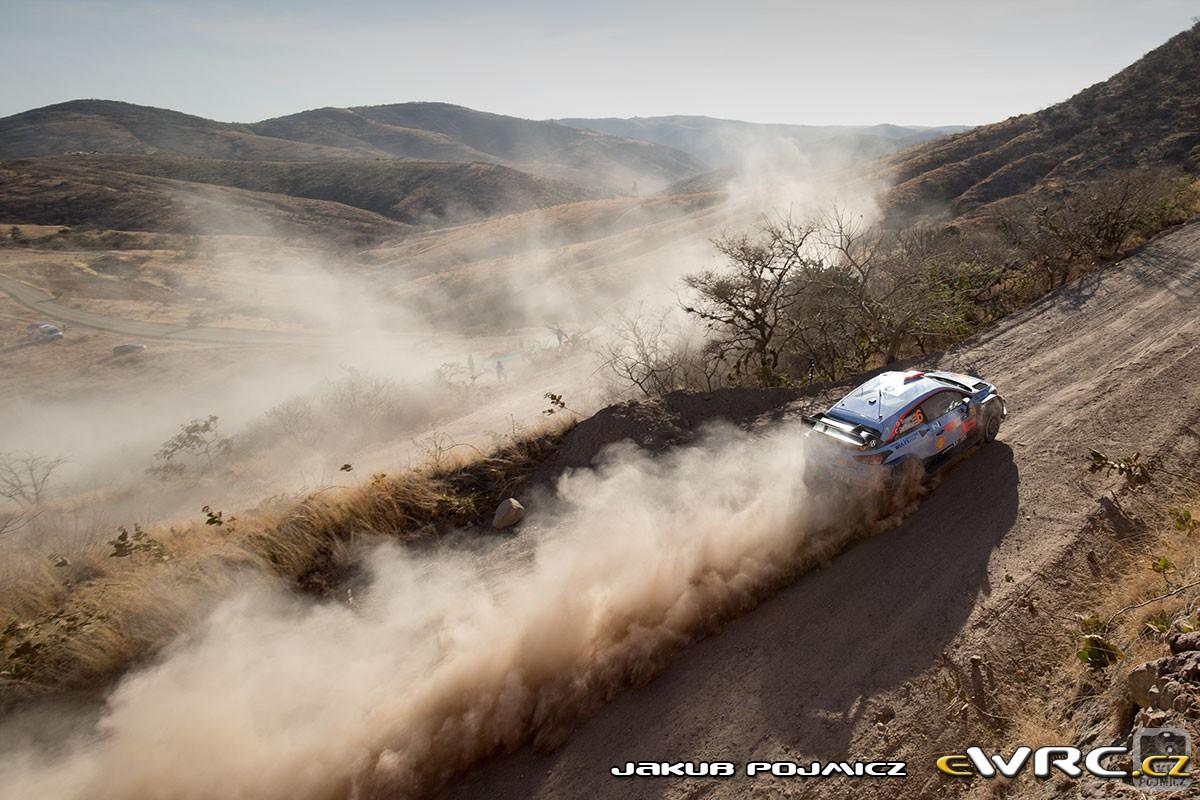 WRC Rally Guanajuato Mexic 2019 – De pe gheata pe macadam incins
