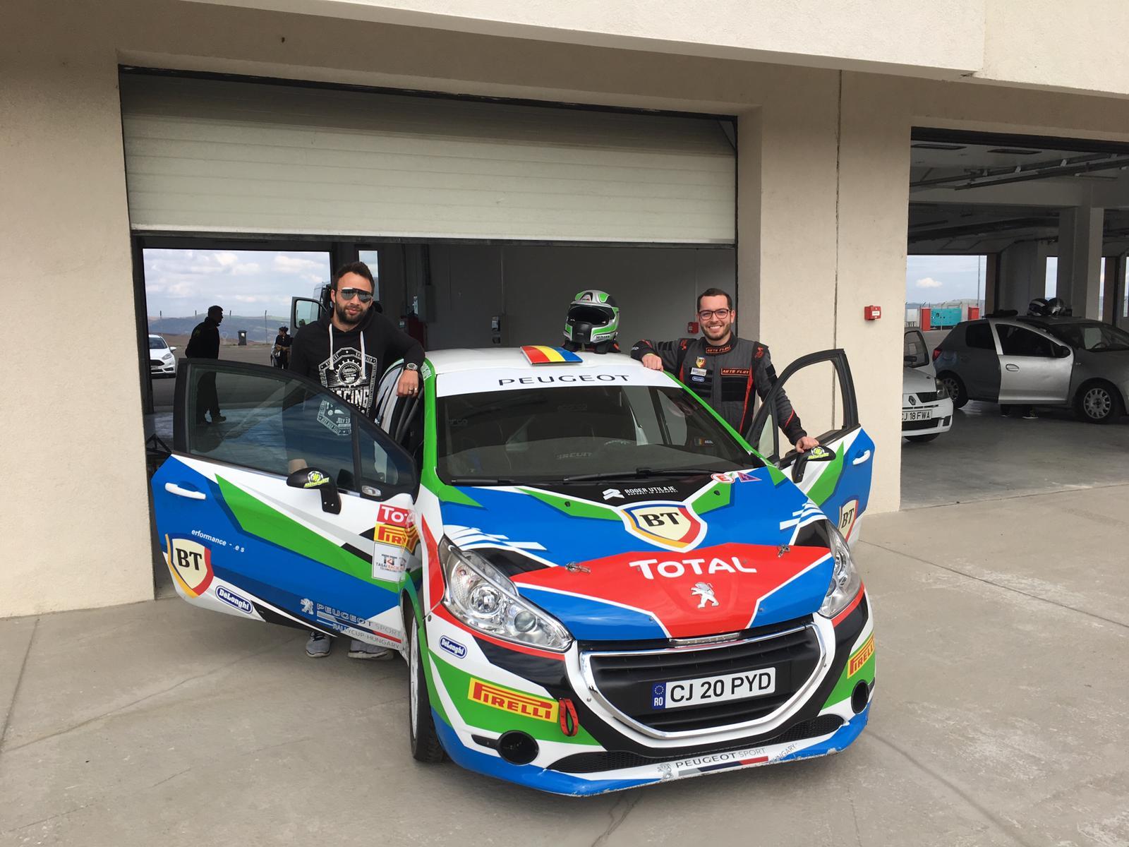 """Mihnea Muresan: """"Sper sa ma acomodez cat de repede cu noua masina si sa ne luptam pentru victorie in clasamentul 2 Roti Motrice"""""""