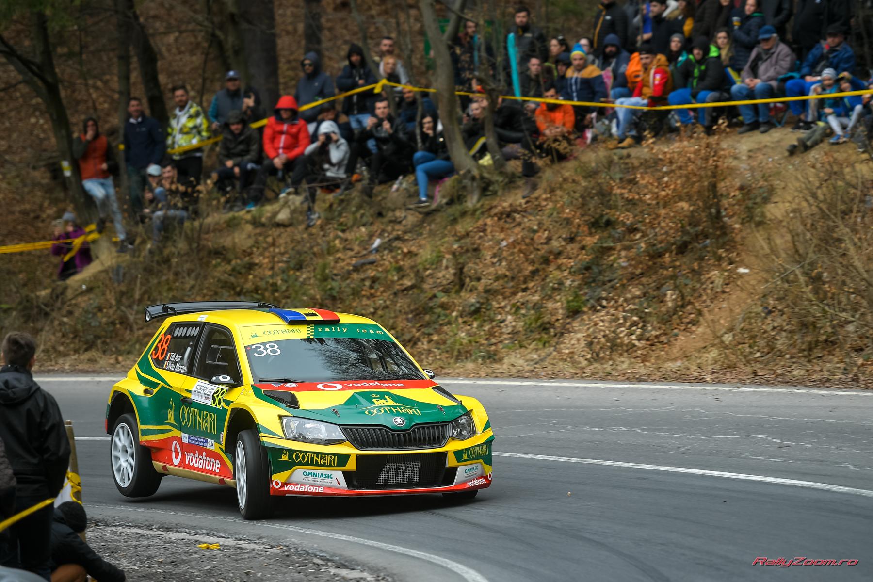 Cotnari Rally Team a urcat pe podium la Trofeul SERUS Rasnov