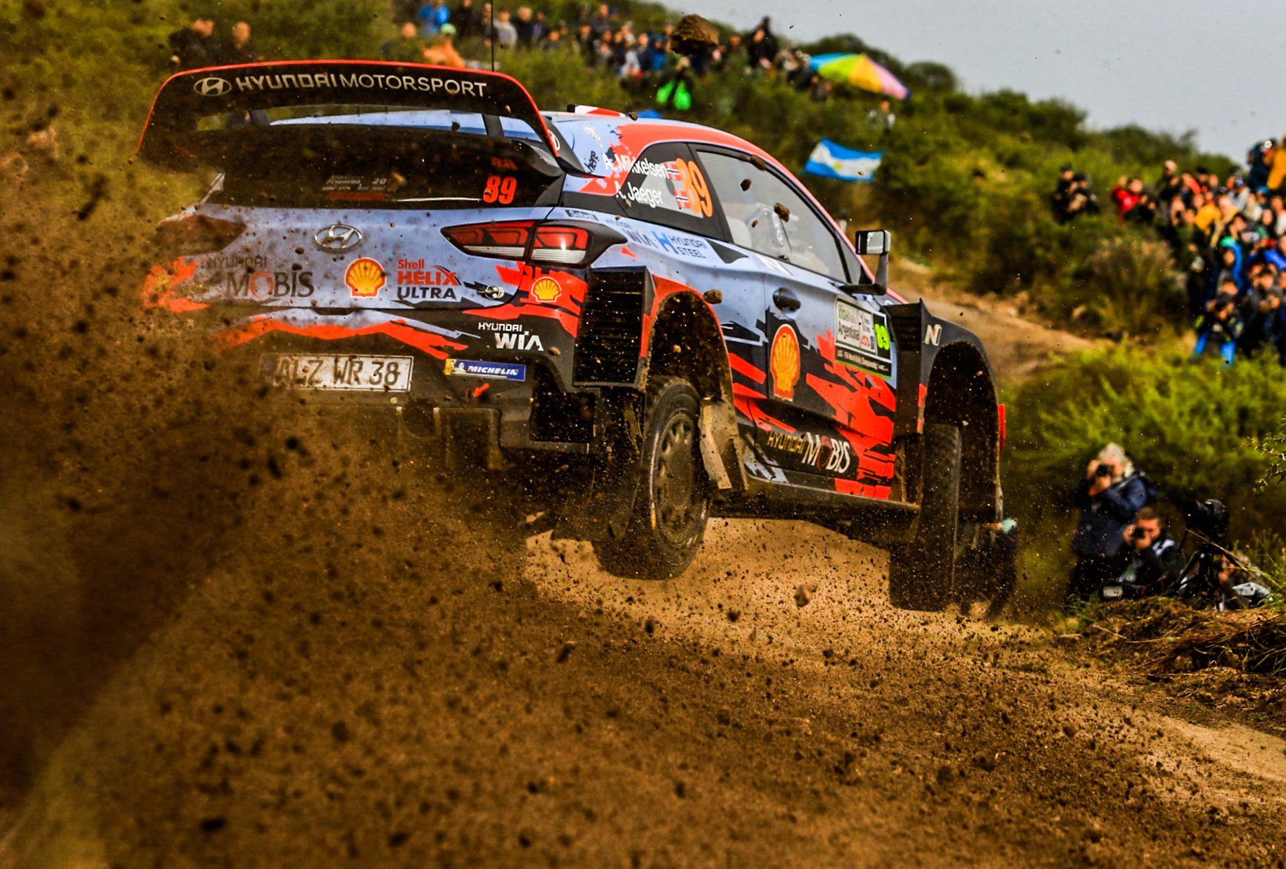 WRC Rally Argentina 2019 – Neuville trece in frunte la finalul zilei