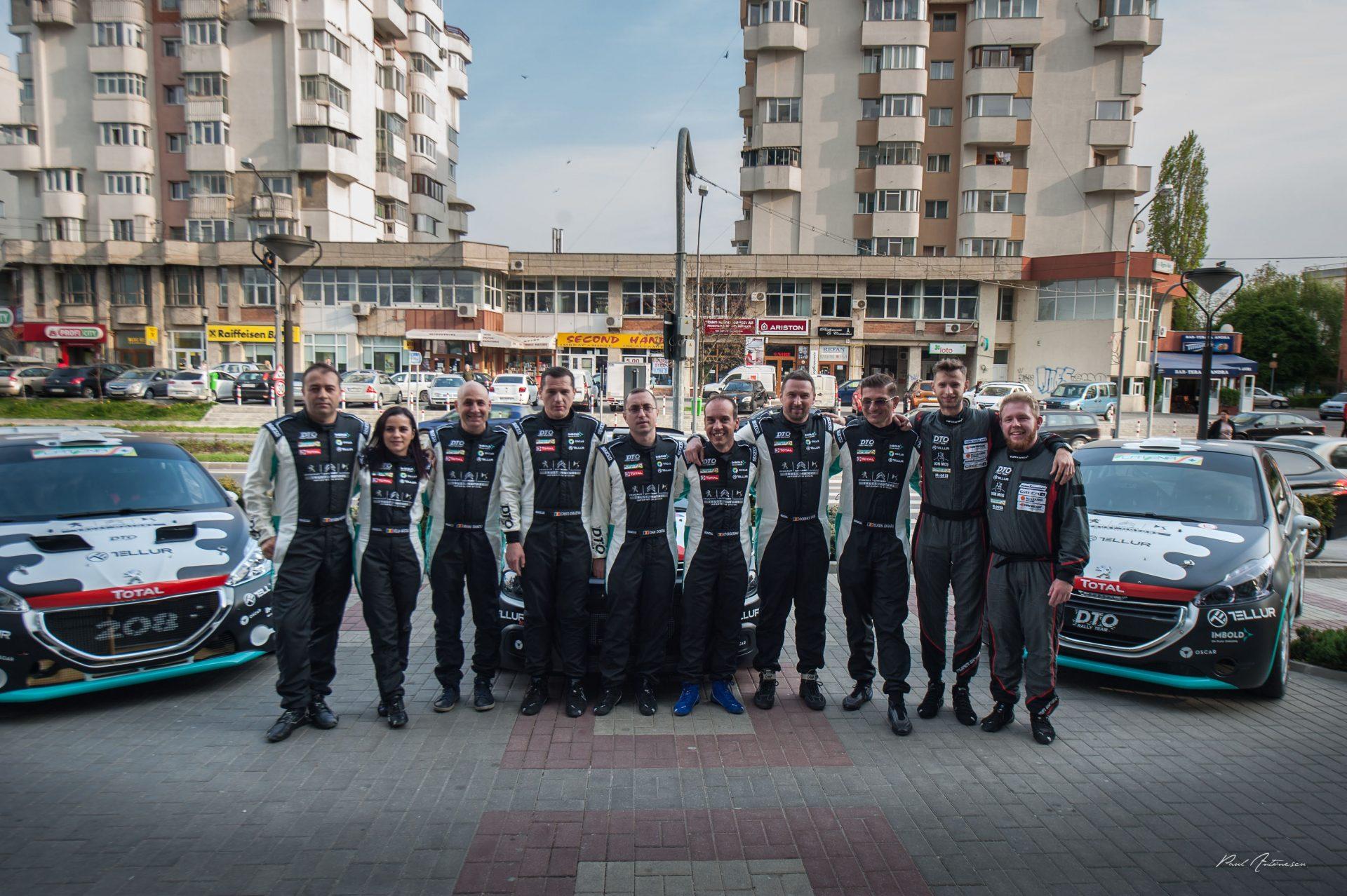 Start cu forte proaspete si noutati pentru DTO Rally Team in sezonul 2019