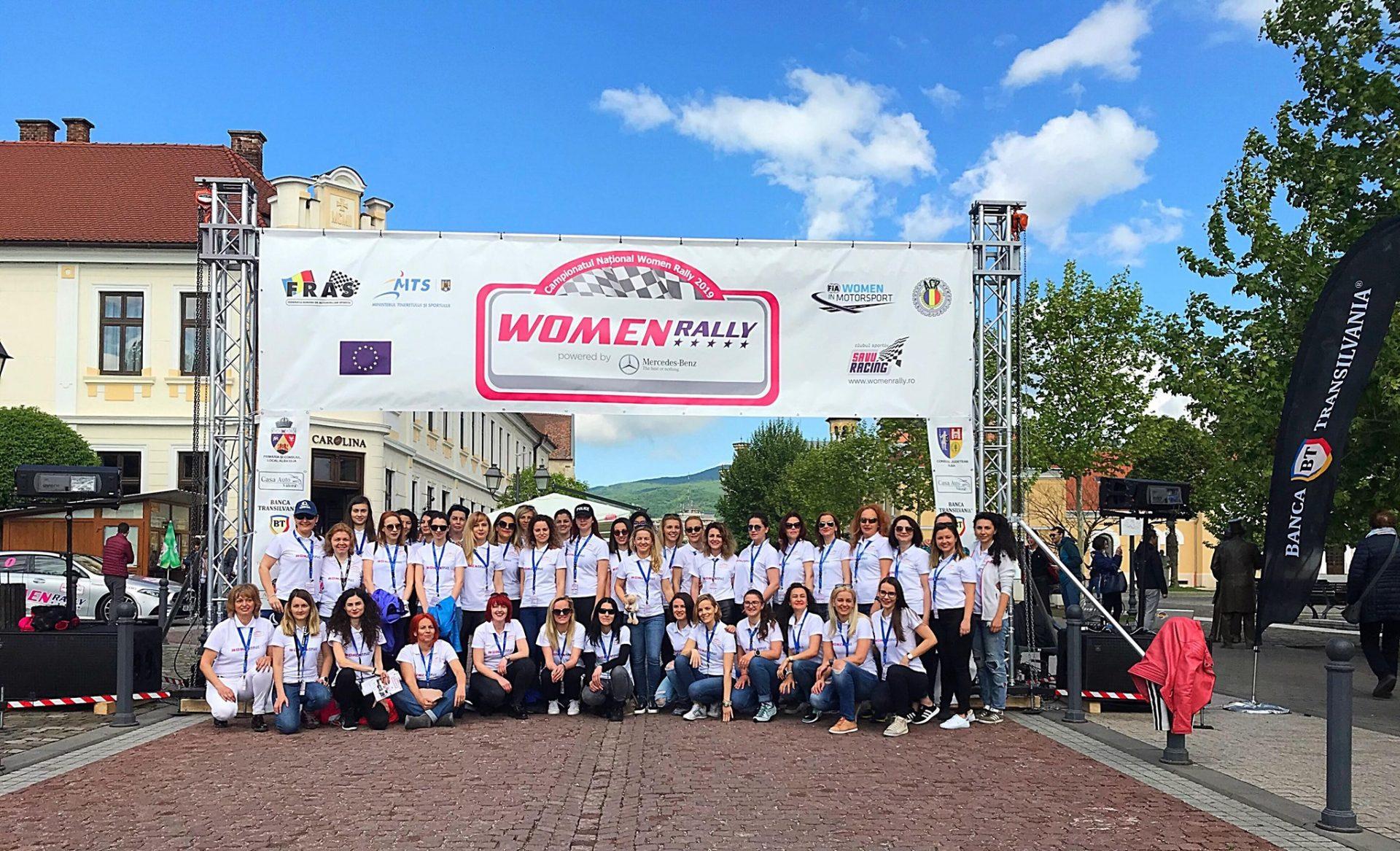 Women Rally vine in premiera la Timisoara!