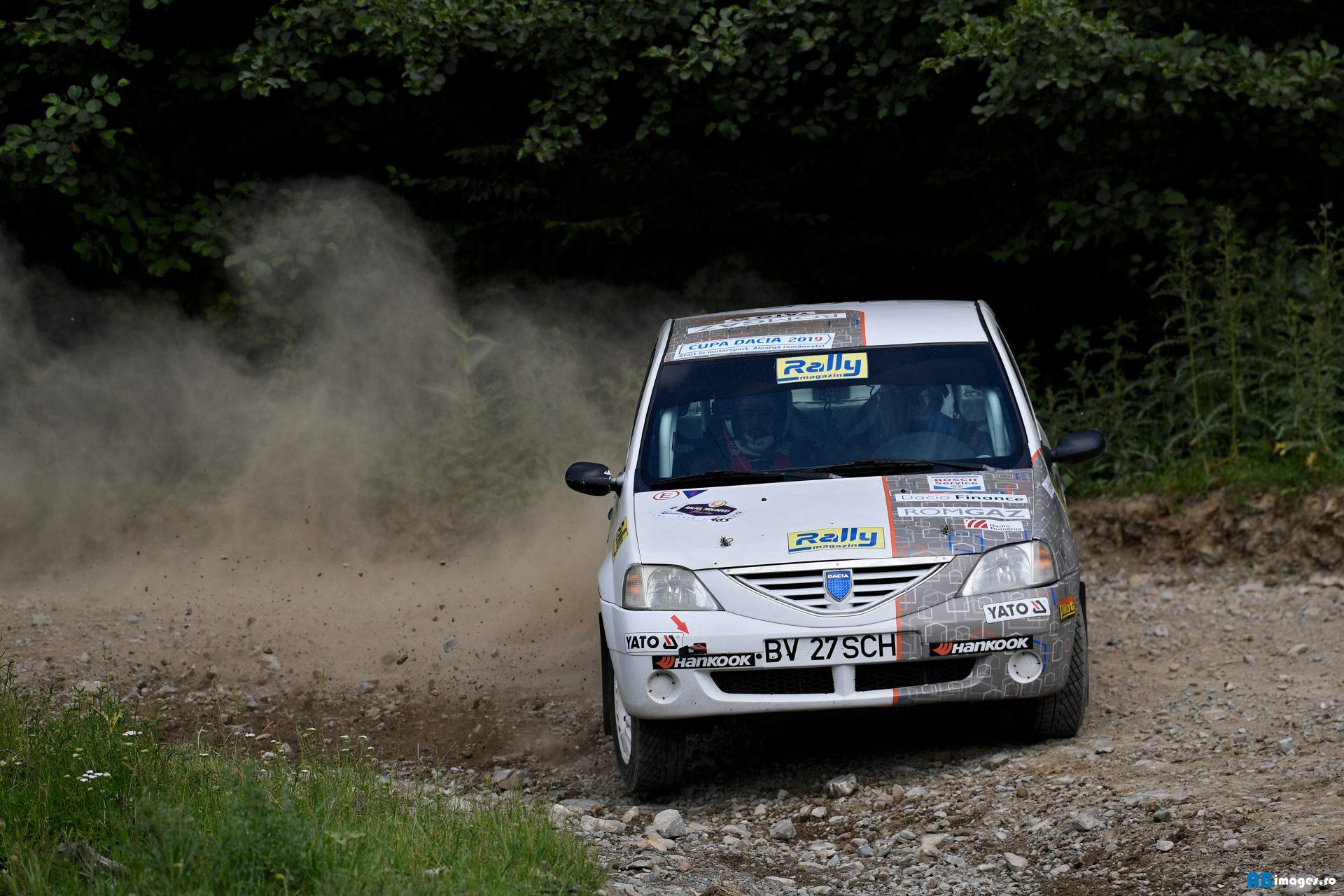 Florian Popescu si Alexandru Gheondea  – cel mai rapid Logan din cupa Dacia