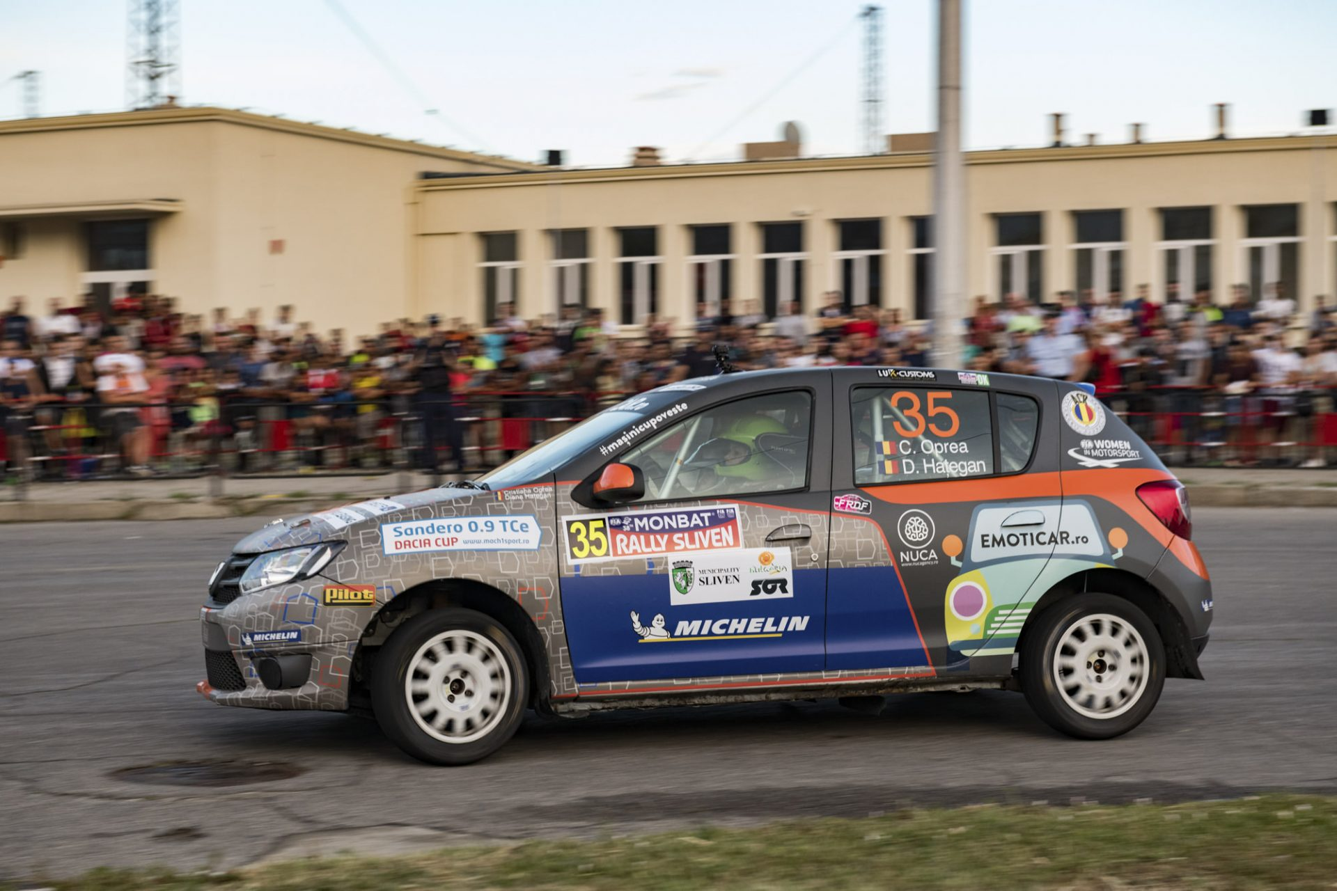 Cristiana Oprea si Diana Hategan revin pe probele de la Rally Sliven, Bulgaria
