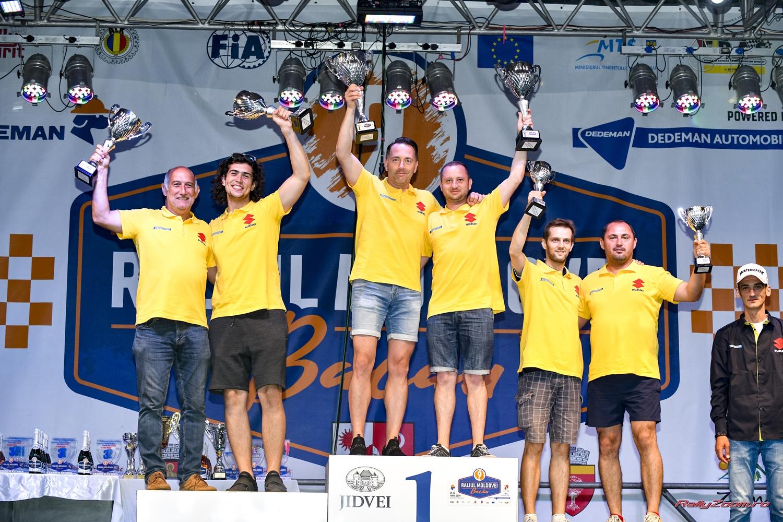 Succes pentru toate cele 6 echipaje Suzuki la Raliul Moldovei