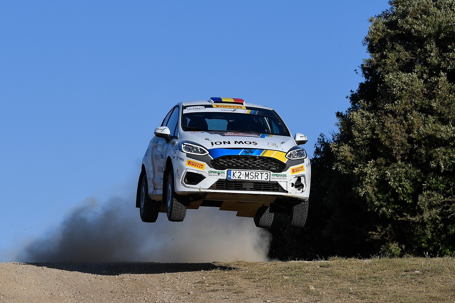 Raul Badiu si Gabriel Lazar au fost aproape de podiumul juniorilor in Raliul Sardiniei