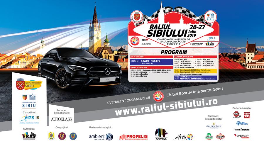 Momentele cheie ale Raliului Sibiului 2019 vor fi transmise live