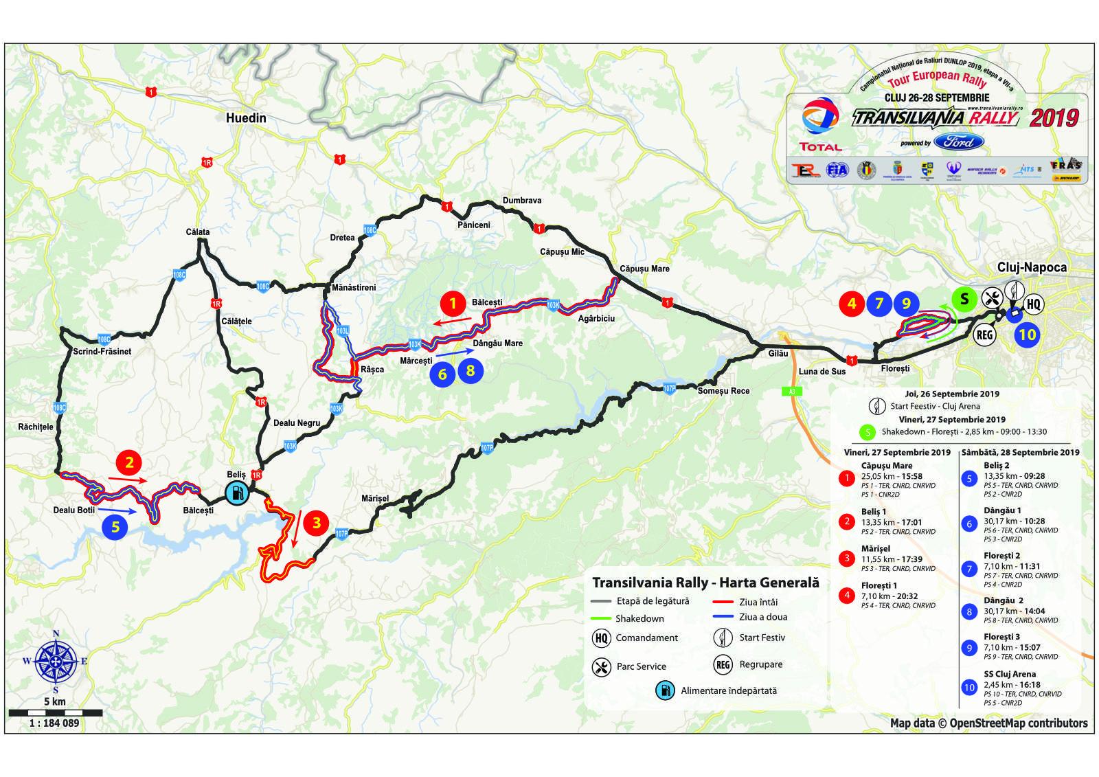Transilvania Rally 2019 Documente Oficiale Rallymax
