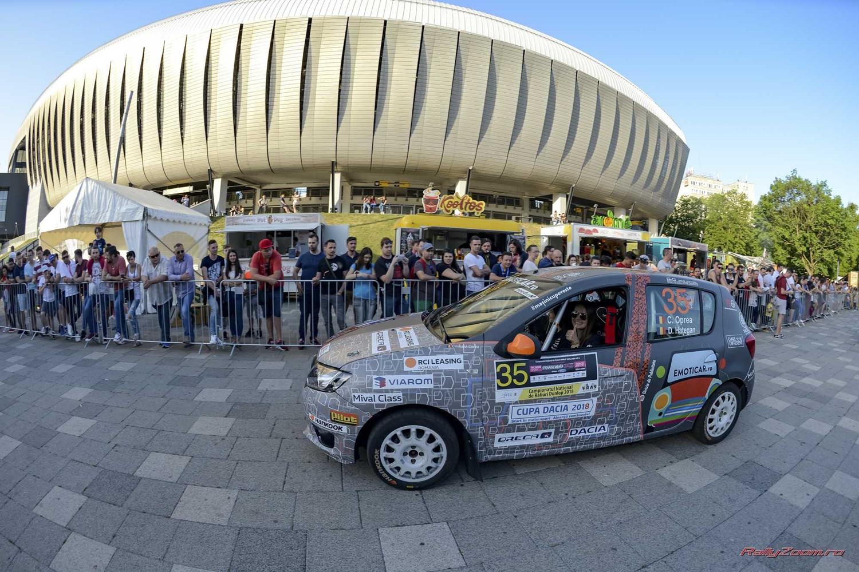 Multa motivatie si un nou sponsor pentru fete la Transilvania Rally