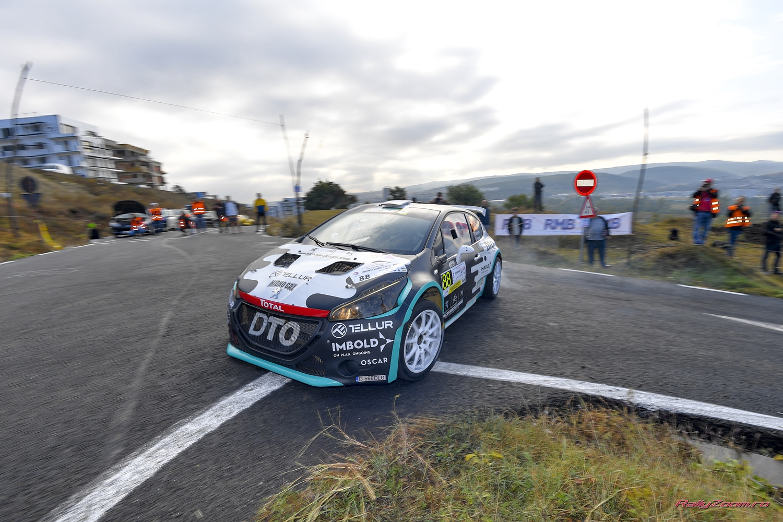 Cursa dificila pentru DTO Rally Team pe meleaguri clujene