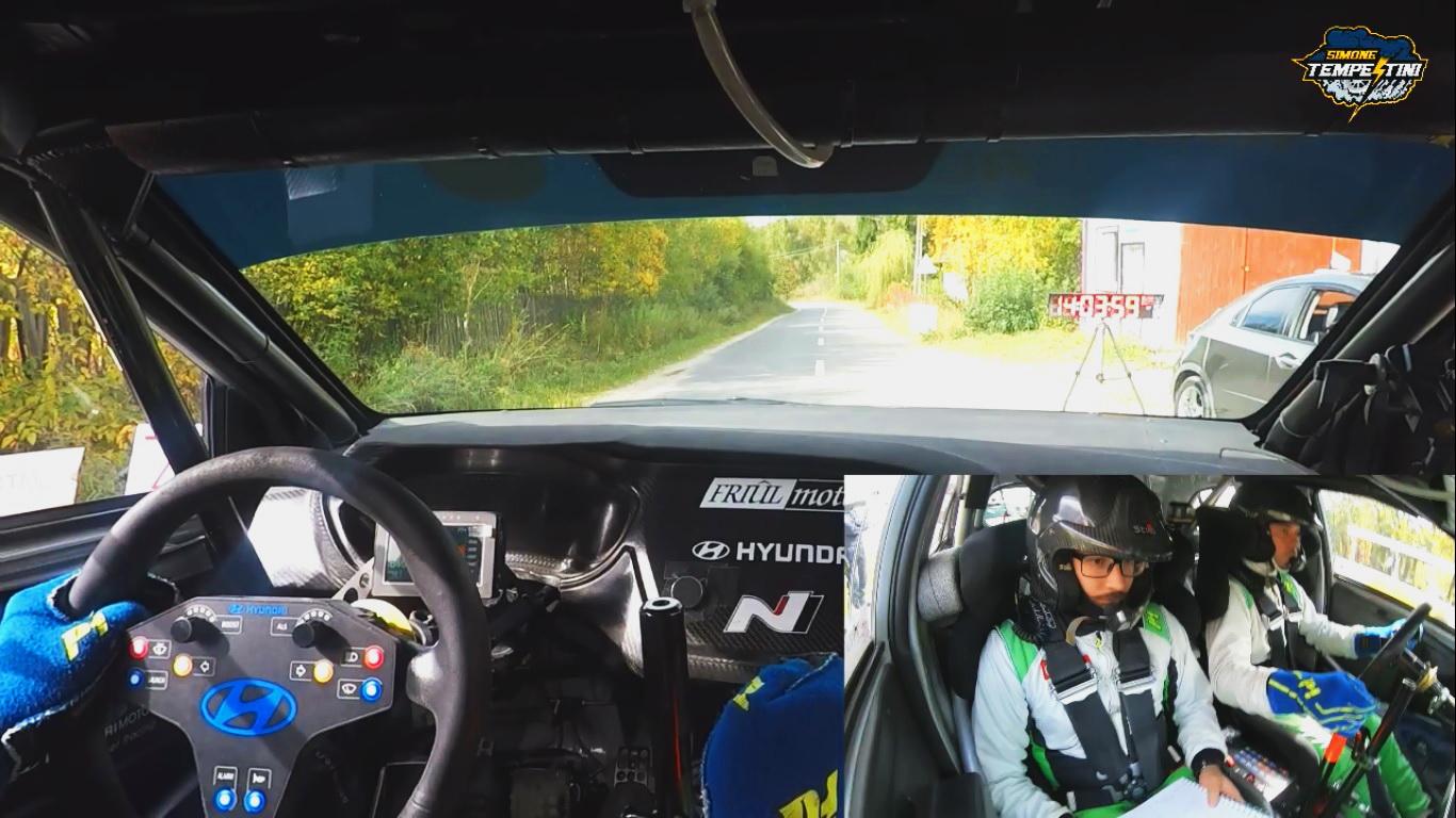 Onboard Action la Transilvania Rally 2019
